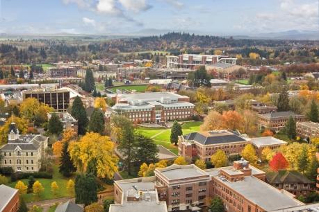 aerial of OSU campus - fall 2010