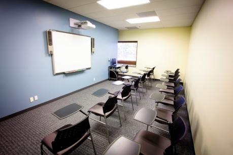 The Embassy Long Beach Los Angeles school. Classroom.